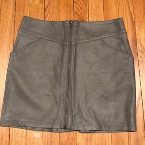NWT leather skirt